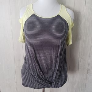 Maurices | Womens Large Striped Shirt Top